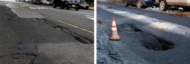 failed street repairs